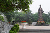 The Ly Thai To statue is located at Indira Gandhi Park, near Hoan Kiem Lake in Hanoi, Vietnam, Asia.