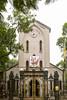 The Saint Anthony Ham Long Church in Hanoi, Vietnam, Asia.