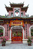 The Phuoc Kien Pagoda in Hoi An, Vietnam, Asia.