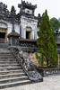 The Khai Dinh Tomb near Hue, Vietnam, Asia.
