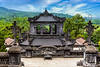 The historical site of the Royal Khai Dinh Tomb near Hue, Vietnam, Asia.