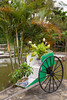 A decorative cart at the Huong Giang Hotel in Hue, Vietnam, Asia.