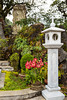 Tomb of the priest and grotto at the Nam Duc Tin Catholic church in Sapa, Vietnam, Asia.