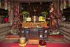 The Thay Pagoda (Masters Pagoda) located at the foot of Sai Son mountain near Hanoi, Vietnam, Asia.