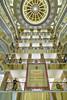 Interior architecture of the Trang Tien Plaza shopping center in Hanoi, Vietnam, Asia.
