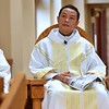 Fr. Joseph Quang learns that a cake is on its way out, and soon he learns it is for him for his upcoming 40th birthday!