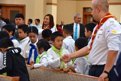 Vietnamese worship community celebrates 40th anniversary