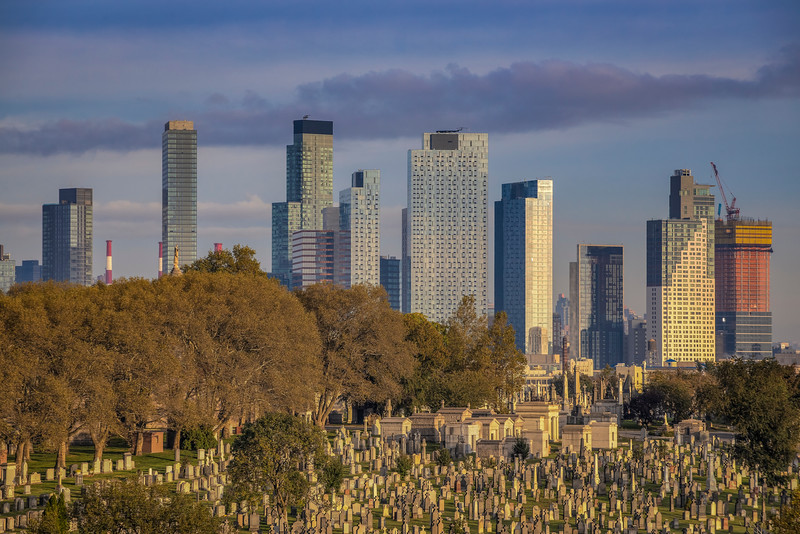 Mausoleums And Skyline