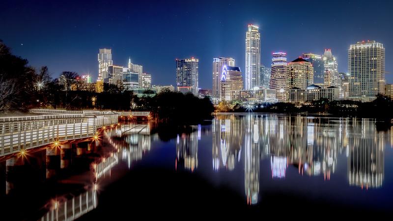 Stars over Austin
