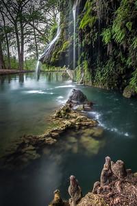 Krause Springs Waterfall