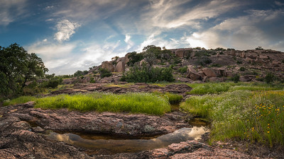Taken at the South base of the Little Rock, Enchanted Rock State Park.