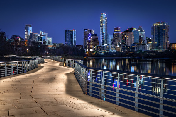 Blue Hour in Austin