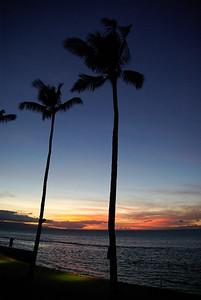 Maui sunset.