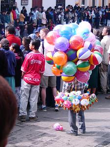 Balloon vendor
