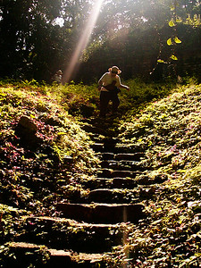 Yaxchilan Stairs
