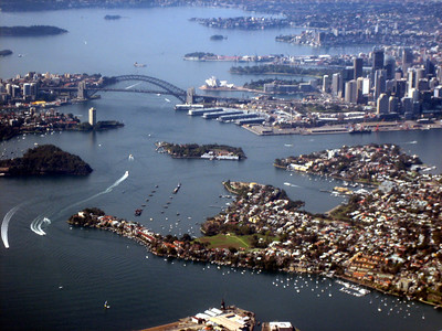 Sydney from air