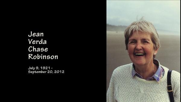Jean's Memorial Slideshow