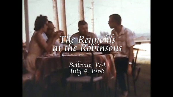 The Reynolds at the Robinsons
