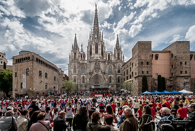 Festival at Barcelona Cathedral