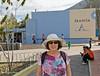 """Quito, Ecuador<br /> Louise at the """"Francia"""" building"""