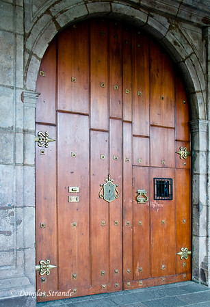 Quito, Ecuador A door within a door