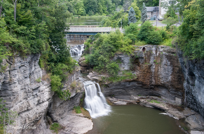 Triphammer Falls at Cornell