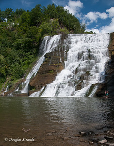 Ithaca Falls (in town)