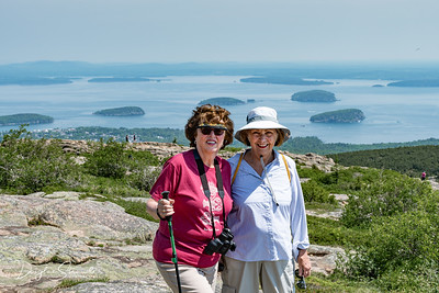 Louise and Betty on Cadillac Mountain