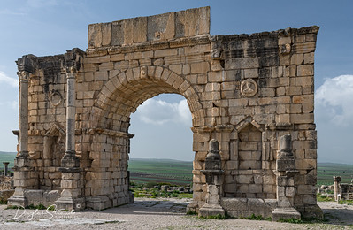 Main gate of Volubilis