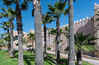 Walls of Bab Rouah, the Gate of the Winds