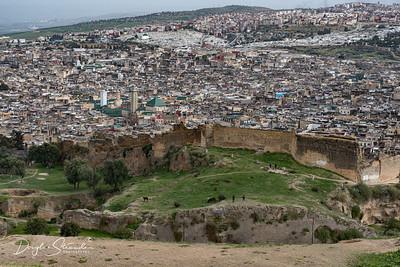 Arriving at Fez