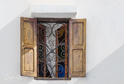 Typical window in the medina