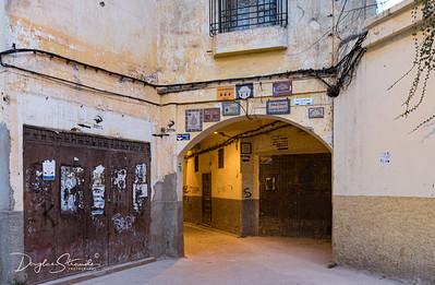 Riad Salam is down this street