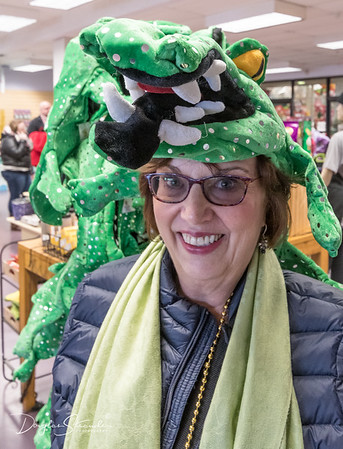Louise with Aligator Hat