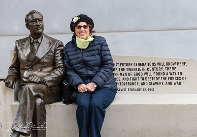 Louise with FDR