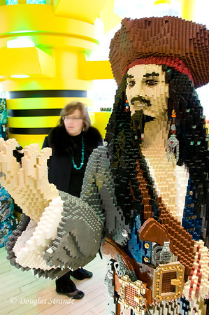Lego Pirate at FAO Schwarz