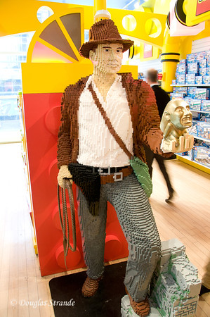 Lego Indiana Jones at FAO Schwarz