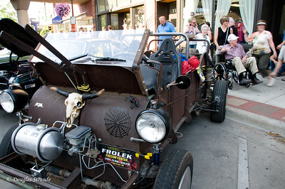 2012  Customized manure spreader at the Fargo car show