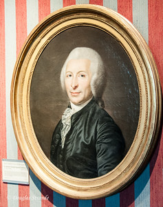Portrait of Dr. Guillotin, inventor of the execution device