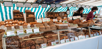 Bakery goods for sale in the open market