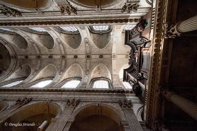 The ceiling of St Sulpice