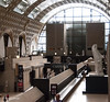 Inside the Musee d'Orsay, no photos please.