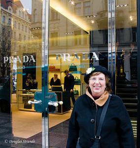 Louise discovers Prada