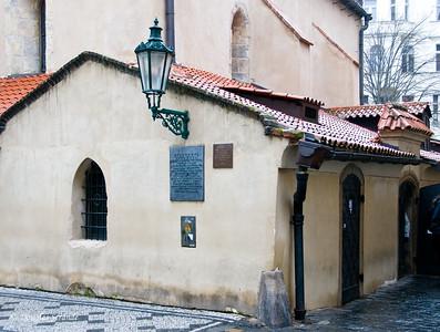 Old-New (Staronova) Synagogue, Prague