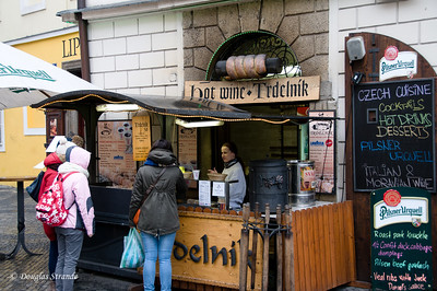 Refreshment stand in Old Town, Prague