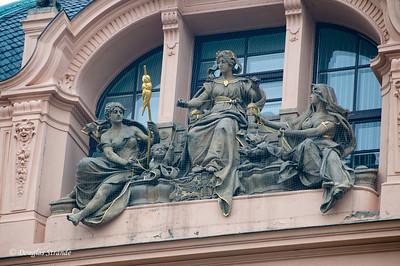 Building details, Prague