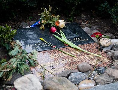 Memorial to martyrs, Jan Palach & Jan Zajic, Prague