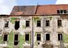 War damaged building, Bratislava