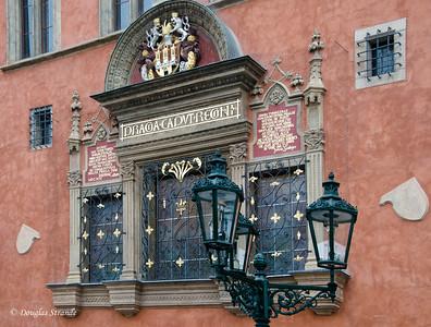 Building detail, Prague