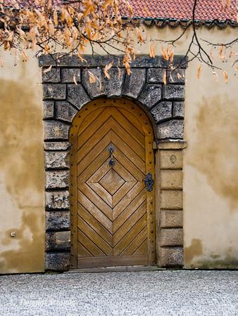 Doorway on the Castle grounds